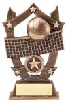 3D Sport Stars -Volleyball 3D Sport Stars Resin Trophy Awards