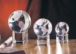 Spinning Globe on Base Achievement Awards