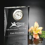 Moments Beveled Clock Achievement Awards