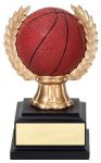 Wreath Sport Ball -Basketball Basketball Trophy Awards