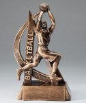 Ultra Action Resin Trophy -Basketball Male  Basketball Trophy Awards