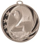 MidNite Star Medal -2nd Place Billiards/Pool Trophy Awards