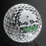 Clipped Golf Ball Boss Gift Awards