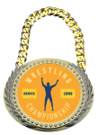 Champ Medal -Dual Plated Presidential CHAMPIONSHIP BELTS AND CHAINS