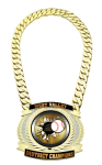 Champ Medal -Dual Plated CHAMPIONSHIP BELTS AND CHAINS