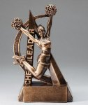 Ultra Action Resin Trophy -Cheerleading  Cheerleading Trophy Awards