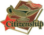 Citizenship Pin Chenille Lapel Pins