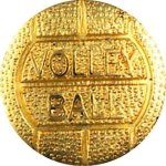 Volleyball Chenille Lapel Pins