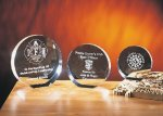 Eclipse Clear Optical Crystal Awards
