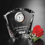 Fanfare Clock Clock Crystal Awards
