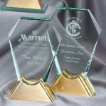 Crystal Gemstone Corporate Crystal Awards