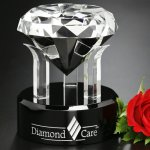 Radiant Diamond Corporate Crystal Awards