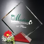 Parkdale Square Crystal Glass Awards