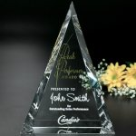 Palisade Award Crystal Glass Awards