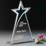 Meteor Star Crystal Glass Awards