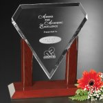 Marquise Award Crystal Glass Awards