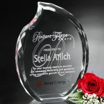 Lambent Flame Crystal Glass Awards
