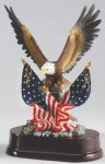 Eagle with American Flag On Base Eagle Awards