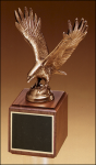 Fully Modeled Antique Bronze Eagle Casting Eagles Trophies