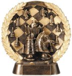Resin Plate -Chess Education Trophy Awards