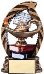 Bronze and Gold Award -Lamp of Knowledge  Education Trophy Awards