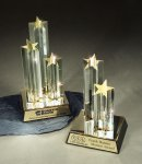 Star Burst Double Star Employee Awards