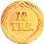 10 Year Pin Employee Awards