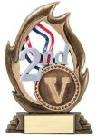Flame Series -Second Flame Resin Trophy Awards