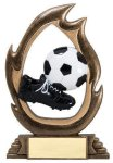 Flame Series -Soccer Flame Resin Trophy Awards