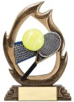 Flame Series -Tennis Flame Resin Trophy Awards