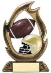 Flame Series -Football Flame Resin Trophy Awards