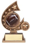 Resin Comet Series -Football Football Trophy Awards