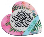 Full Color Heart Shaped Puzzle Game Gifts