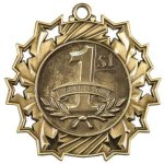Ten Star Medal -1st Place  Military Trophy Awards