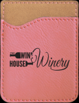 Leatherette Phone Wallet -Pink Misc. Gift Awards