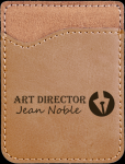 Leatherette Phone Wallet -Light Brown Misc. Gift Awards