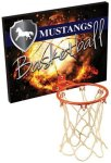 Basketball Plaque with Rim and Net Misc. Gift Awards