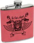 Leatherette Flask -Pink Misc. Gift Awards
