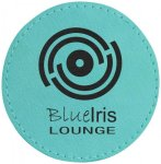 Leatherette Patch with Adhesive Back-Teal Misc. Gift Awards