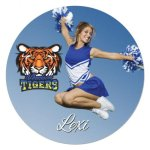 Full Color 2-Sided Circle Aluminum Magnet Misc. Gift Awards