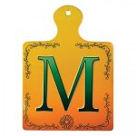 Ceramic Square Paddle Wall Decor/Trivet with Cork Back Misc. Gift Awards