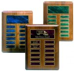 Perpetual Plaque with Blue Plates Monthly Perpetual Plaques