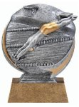 Motion X 3-D -Swimming Male  Motion X Action 3D Resin Trophy Awards