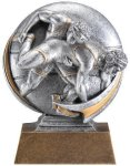 Motion X 3-D -Wrestling Male Motion X Action 3D Resin Trophy Awards
