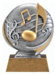 Motion X 3-D -Music Motion X Action 3D Resin Trophy Awards