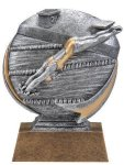 Motion X 3-D -Swimming Female  Motion X Action 3D Resin Trophy Awards