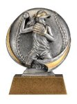 Motion X 3-D -Softball Female Motion X Action 3D Resin Trophy Awards