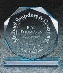 Octagon Bevel Acrylic Award Octagon Awards