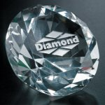 Diamond Paperweight Paperweight Crystal Awards