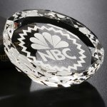 Faceted Gem Paperweight Paperweight Crystal Awards